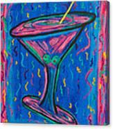 Twisted Martini Canvas Print