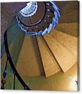 twisted stairs Vizcaya Canvas Print