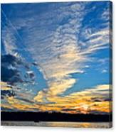 Twister Cloud Canvas Print