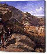 Two Bandits In The Hills, 1857 Canvas Print