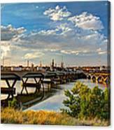 Two Bridges Canvas Print