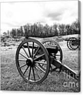 Two Cannons Canvas Print