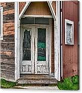 Two Door Entry Canvas Print