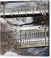Two Foot Bridges Canvas Print