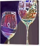 Two Glasses  Canvas Print