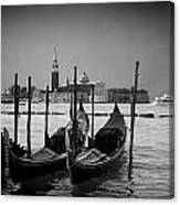 Two Gondolas Canvas Print