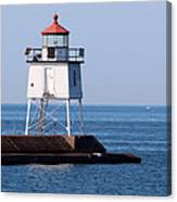 Two Harbors Breakwater Lighthouse Canvas Print