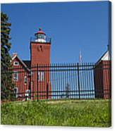 Two Harbors Mn Lighthouse 25 Canvas Print