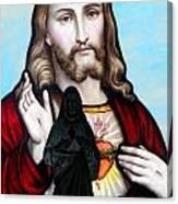 Two Jesuses Canvas Print