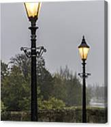 Two Lamps Canvas Print