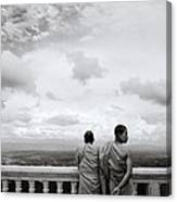 Two Monks Canvas Print