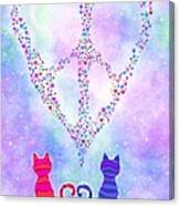 Two Of Hearts Canvas Print