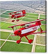 Two Pitts Special S-2a Aerobatic Canvas Print
