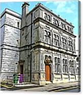 Two Rubbish Bins In Sligo Canvas Print