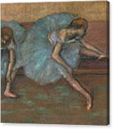 Two Seated Dancers Canvas Print