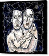 Two Souls Canvas Print