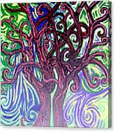 Two Trees Twining Canvas Print