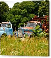 Route 66 Disney Truck Replicas Canvas Print