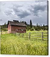 Two Window Barn Canvas Print