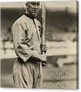 Ty Cobb  Poster Canvas Print