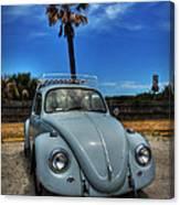 Tybee Island Beach Bug 002 Canvas Print