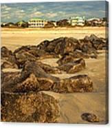 Tybee Island Landscape Canvas Print