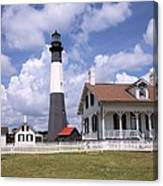 Tybee Island Light Canvas Print