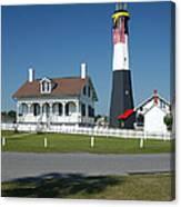 Tybee Island Lighthouse Ga Canvas Print