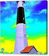 Tybee Island Lighthouse - Photopower Canvas Print