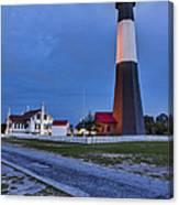 Tybee Island Night Light Canvas Print