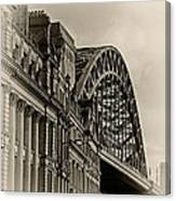 Tyne Bridge Canvas Print