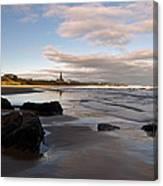 Tynemouth Longsands Canvas Print