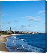 Tynemouth Longsands Canvas Print