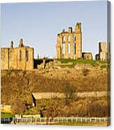 Tynemouth Priory And Castle Canvas Print