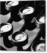Typewriter Keys, 1921 Canvas Print