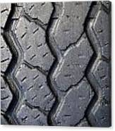 Tyre Tread Canvas Print