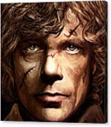 Tyrion Lannister - Peter Dinklage Game Of Thrones Artwork 2 Canvas Print