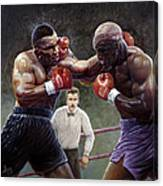 Tyson/holyfield Canvas Print