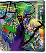 Tzadik 6 C Canvas Print