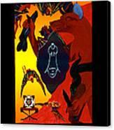 Tzuflifu   - The Emperor Canvas Print