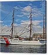 U S C G Barque Eagle Canvas Print