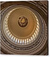 U S Capitol Rotunda Canvas Print