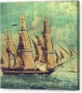 U S S Constitution 1803-1804 Canvas Print