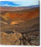 Ubehebe At Death Valley Canvas Print