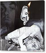#uck Fame Canvas Print