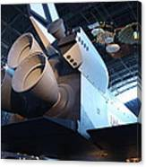 Udvar-hazy Center - Smithsonian National Air And Space Museum Annex - 121272 Canvas Print