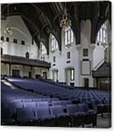 Uf University Auditorium Interior And Seating Canvas Print