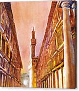 Uffizi- Florence Canvas Print