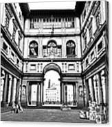 Uffizi Gallery In Florence Canvas Print