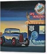 U.f.o. Burgers Canvas Print